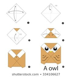 Origami owl tutorial is an easy and fun choice for children.Having these kinds of origami and handcrafted activities for kids. Instruções Origami, Origami Ball, Origami Dragon, Origami Butterfly, Paper Crafts Origami, Origami Design, Origami Flowers, Paper Crafting, Origami Owl Easy