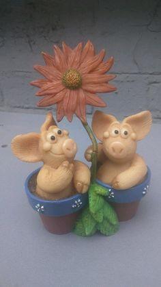 Piggin Collectors Figurine Piggin Bloomin' Marvellous Ornaments PIG   eBay