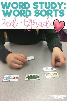 Make word study fun with these hands-on, interactive word sorts for first grade. Complete with 'how-to' directions, use the ideas in this resource for small group phonics instruction, in a spelling journal as a word sort, as a literacy center or game for practice. You can even send it home as guided practice for homework! Click the link to see how to use this tool to assess your students' phonics and decoding skills! #wordstudy #phonics #wordsorts #primary #sorting #readingfluency #literacy