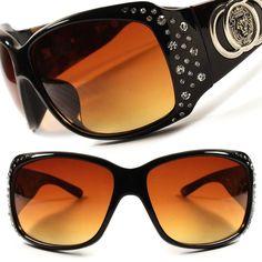 dda2275c3d60 Fashion Designer Large Wrap Bling Rhinestone Oversized Womens Sunglasses  D71B  KLEO  Designer Sunglasses Accessories