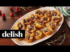 Best Cranberry Brie Bites Recipe - How to Make Cranberry Brie Bites