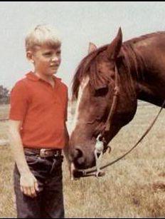 Viggo Mortensen as a boy