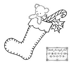 919 Best Christmas Embroidery Patterns Images On Pinterest