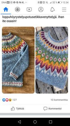 Fair Isle Knitting Patterns, Diy Crochet, Knitted Hats, Vest, Sweaters, Fashion, Tricot, Moda, Fashion Styles