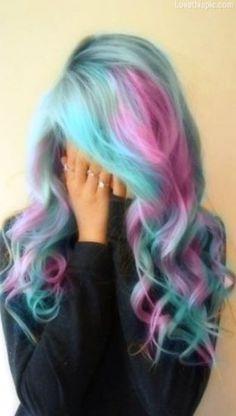 "Blonde Hair With Purple Highlights | One Response to ""Como Fazer Cabelos Coloridos"""