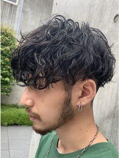 Stylish Boy Haircuts, Haircuts For Long Hair, Permed Hairstyles, Haircuts For Men, Curly Hair Cuts, Long Hair Cuts, Curly Hair Styles, Hair Barber, Asian Men Hairstyle