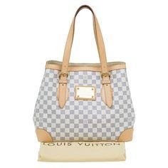 Louis Vuitton Damier Azur Canvas Hampstead MM Bag. Buy Louis VuittonDay  BagAuthentic ... 7d1d6a4b6a
