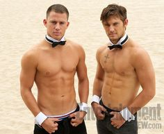 Channing Tatum and Alex Pettyfer from Magic Mike