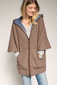 Esprit / blended wool cape. Italianist.com please