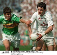1998 - ALL-IRELAND SFC SEMI-FINAL: KILDARE 0-13 KERRY 1-9 Semi Final, Finals, Ireland, In This Moment, Sports, Hs Sports, Final Exams, Irish, Sport