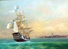 Portuguese sail warship