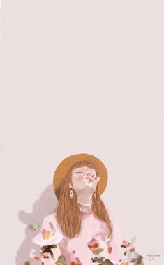 List of Nice Anime Wallpaper IPhone Pastel Girl Wallpaper, Cartoon Wallpaper, Pastel Wallpaper, Watercolor Wallpaper Phone, Wallpaper Lockscreen, Painting Wallpaper, Aesthetic Iphone Wallpaper, Aesthetic Wallpapers, Inspiration Artistique
