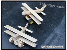 A nice quick and easy craft for you today… you need five recycled ice lolly sticks for each plane (that's Continue Reading