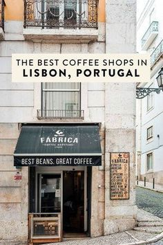 The Best Coffee Shops and Cafe Lisbon Portugal In addition to food, Lisbon is home to many specialty coffee shops worth a visit! Here are the best coffee shops/cafes in Lisboa, Portugal, including the best pastel de nata and chocolate cake Best Coffee Shop, Great Coffee, Coffee Shops, Coffee Coffee, Coffee Cake, Algarve, Road Trip Portugal, Portugal Travel, Café Bar