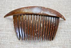 Beautiful Coconut shell decorative comb