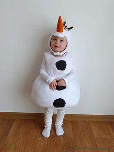 by sovička: Fotonávod: Olaf - karnevalový kostým