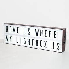 Vintage Is In! Introducing the newest member to our My Cinema Lightbox family - the Vintage Cinema Lightbox. Finished in a dark faux wood print, it adds a touch