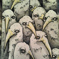 Little doodles.  www.kristenferrell.com