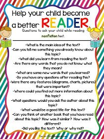 Fun in First Grade: Tips for Parents...How to Help My Child Succeed. Send home w leveled readers