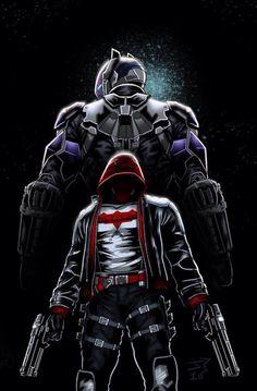 Jason Todd, Red Hood, Arkham Knight - Jonathan Piccini