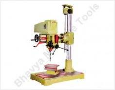 All About a Drilling Machine - http://machinetools.bhavyamachinetools.com/all-about-a-drilling-machine/