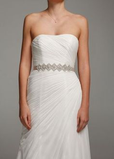 Complete your wedding look with the perfect bridal sash & belt! David's Bridal offers pretty wedding belts and sashes in various styles & designs. Bridal Sash Belt, Wedding Sash, Dress Wedding, Inexpensive Wedding Dresses, Affordable Dresses, Bridal Party Dresses, Bridesmaid Dresses, Bridesmaids, Dress Sash