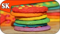 RAINBOW OF COOKIES - M&M Rainbow Cookies - Rainbow Series 07