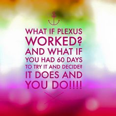 Just try it already! carolsherman.myplexusproducts.com #Plexus #Health #WeightLoss