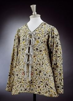 embroidered jacket from 1600-1625