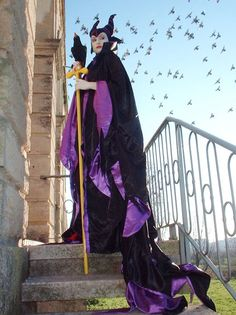 Maleficent, amazing shot. I need a staff and a Diablo to make my costume complete.