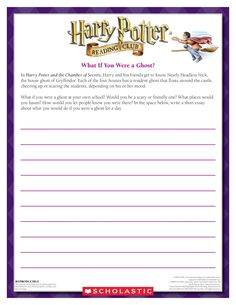 Harry Potter themed punctuation activity: the punctuation is ...