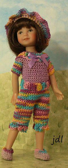 """Confetti Fun Heartstring Elizabeth 8"""" Dinna Effner Doll by JDL Doll Clothes #HeartstringDoll8"""