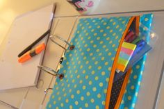 Lachkauz: Stiftemappe für den Ordner