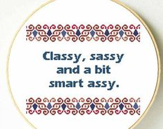 Funny cross stitch pattern. Funny mother's day gift. Best friend funny gift. Subversive cross stitch pattern. Sassy cross stitch pattern.