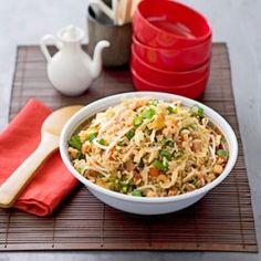 Cucinare che Passione: Riso fritto con prosciutto e germogli di fagioli