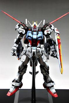 PG 1/60 GAT-X105 Strike Gundam [Skygrasper + Aile strike]