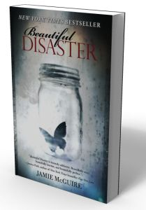 Beautiful Disaster.. Probably one of the best books I have ever read!!! I read it in one day, turned around and read it again. Now I just need to find my own Travis Maddox. :-)