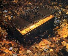 Imagen de gold, money, and love