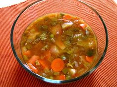 Making our own dehydrated soup mixes is a practical way to use our dried vegetables and meats.