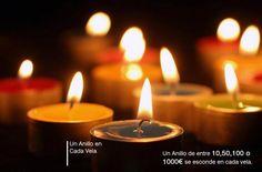 http://velasdeltesoro.com Un anillo se esconde en cada vela