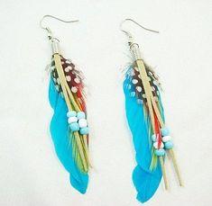 Feather_earrings_Jewelry_fashion_earring