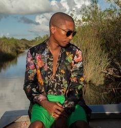 Pharrell Williams photographed by Gillian Laub