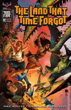 Land That Time Forgot (2016) 2A American Mythology Comics Modern Age comic book covers 2