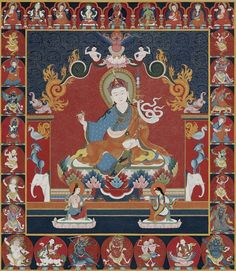 "arche Lamsel means dispelling obstacles on one's spiritual path. The teachings of Brache Lamsel is a ""mind sadhana"" of Guru Rinpoche in the form of hidden treasure teachings, terma, revealed by Chokgyur Lingpa, a great incarnate terton."