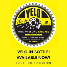 Velo is a 4.2% ABV 'free wheeling' fresh pale ale brewed with cascade hops and an ever so subtle hint of orange and coriander. Developed at our very own microbrewery before being promoted to our main plant due to unprecedented demand.