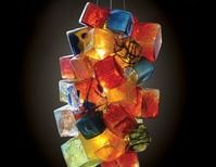 Pismo Fine Art Glass - Joe McDonnell   Circus Chandelier