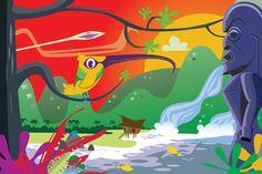 Akiapola'au at Sunrise by TikiKitchen on Etsy