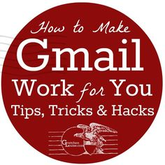 How to Make Gmail Work for You - Gretchen Louise Most Gmail users only scratch the surface of the options available. Here are the top tips, tricks, and hacks to make Gmail work for you. Technology Hacks, Computer Technology, Computer Programming, Medical Technology, Energy Technology, Software, Marketing Mail, Digital Marketing, Gmail Hacks