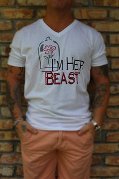 Disney Inspired Beast Shirt for Men & Boys / by MagicInMyVeins