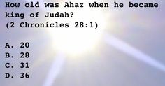 How old was Ahaz when he became king of Judah?